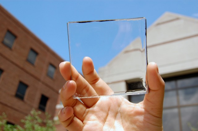 Michigan State University, solar cells, Invisible Solar panels, Transparent solar panels, solar panels that don't block view, Michigan State University, Solar energy, Windows and screens making use of solar energy