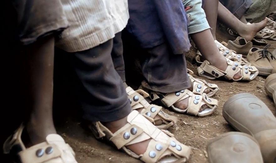 Growing sandal