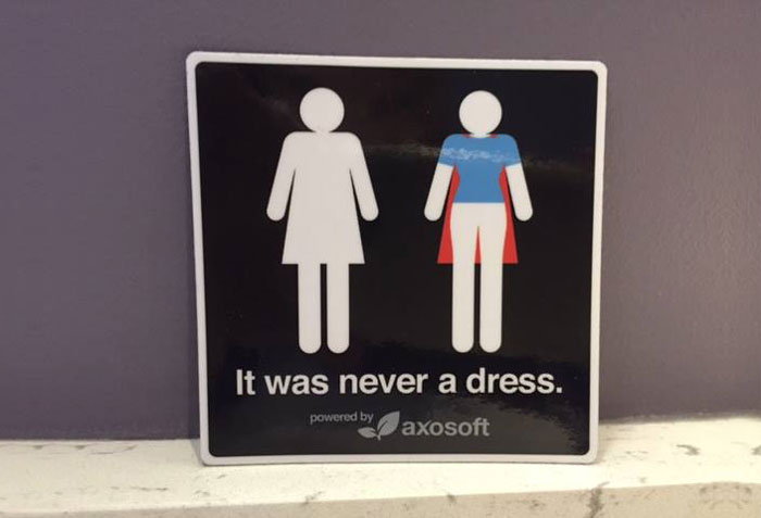 It Was Never A Dress: This Campaign Will Change How You See Bathroom Signs 1