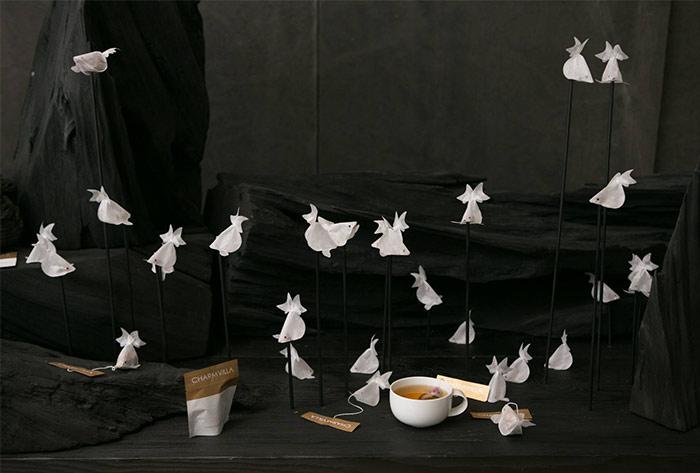 Tea bags collection