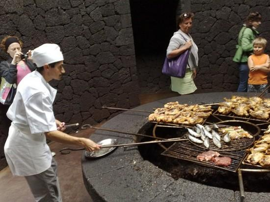 Volcano restaurant