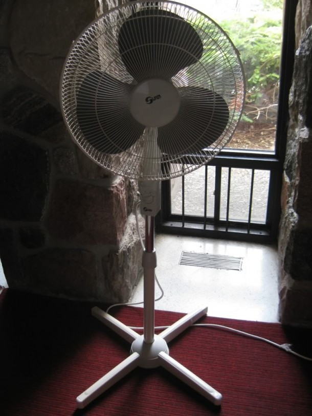 Fans to rescue