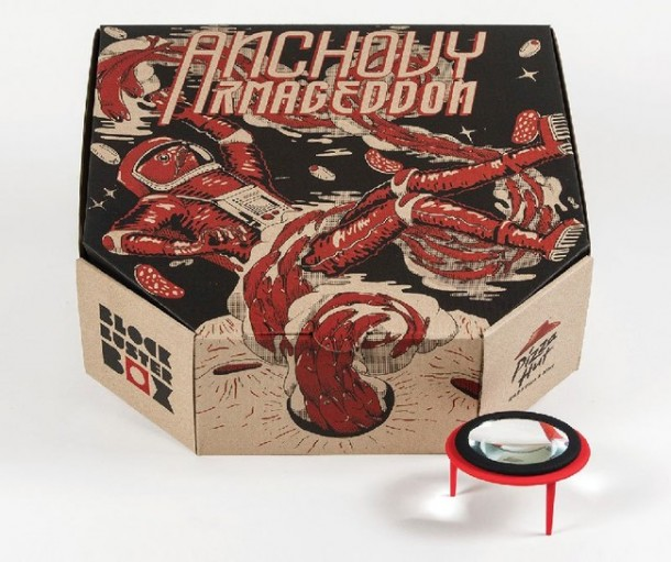 This New Pizza Box By Pizza Hut Converts Your Phone Into A Movie Projector 1