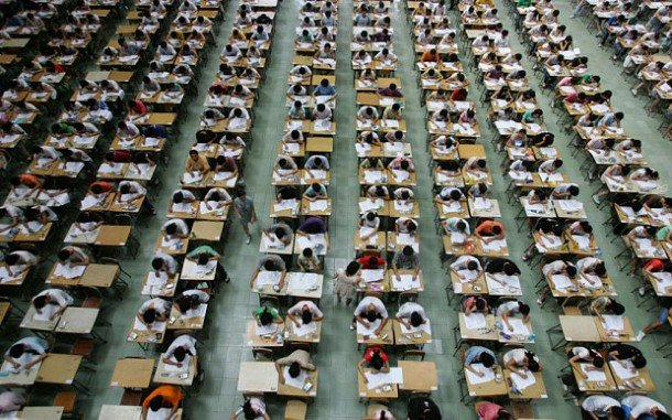 China Uses Drones To Stop Students From Cheating On The World's Most Stressful Exam 1