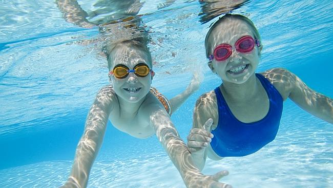 Your Swimming Pool Red-eye Is NOT From Chlorine, It's From Urine