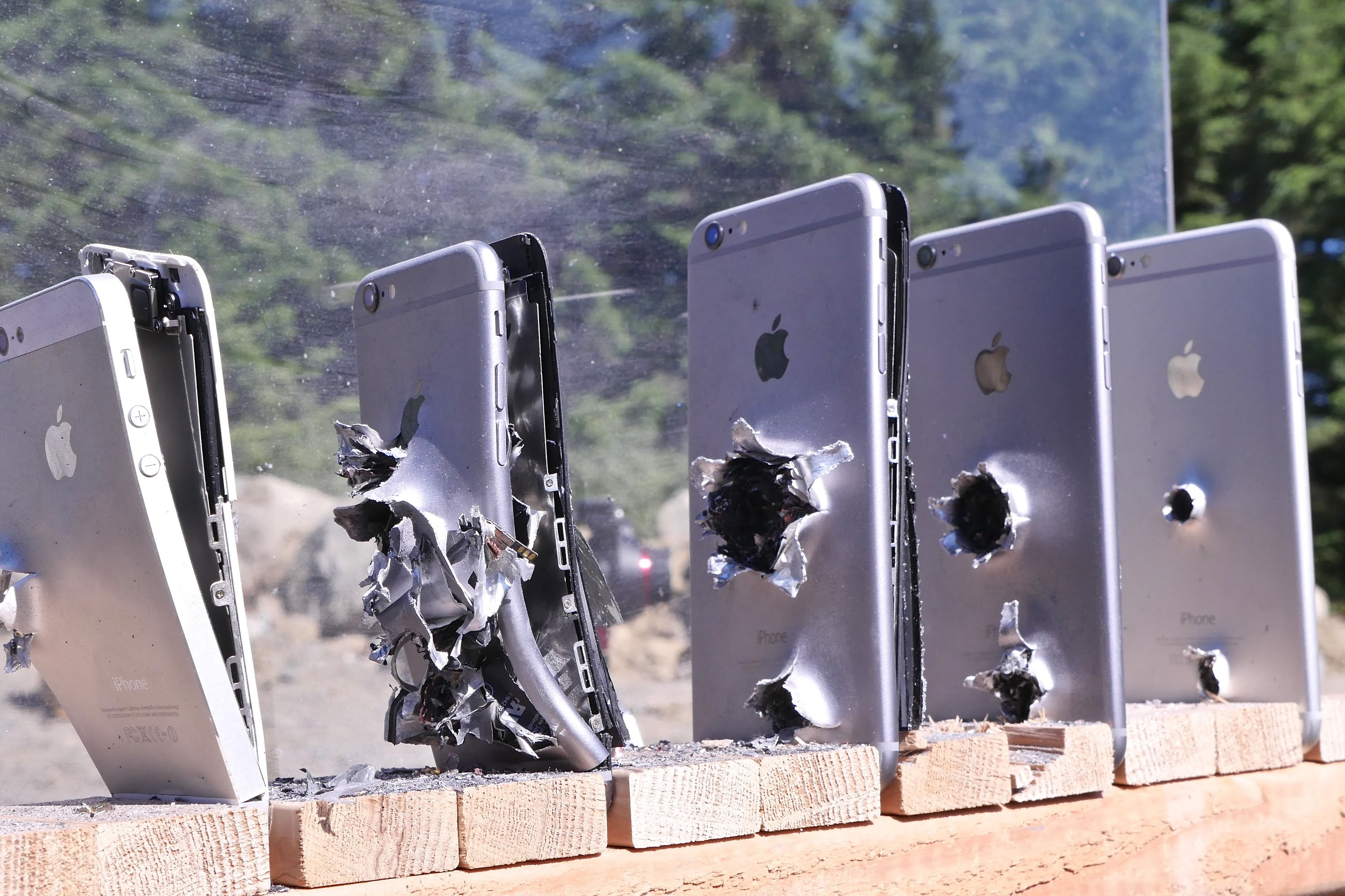 How Many iPhones It Takes to Stop an AK-47 Bullet? This Video Has The Answer