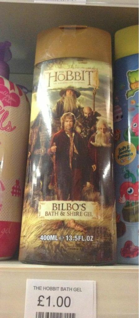Hobbit gel