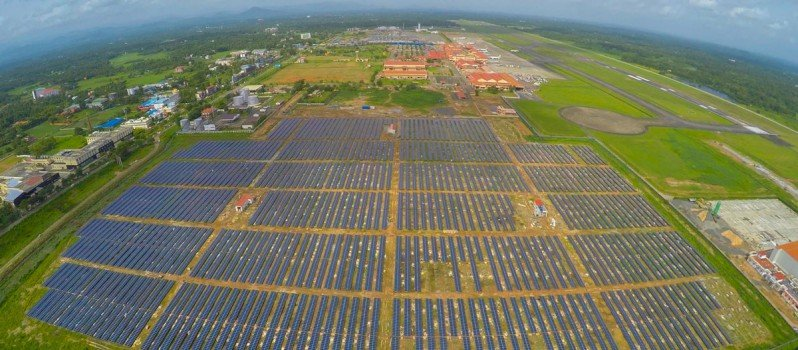 Indian Airport Becomes The First In The World To Run Entirely On Solar Power 1