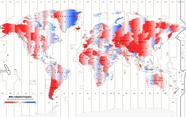 Official time map