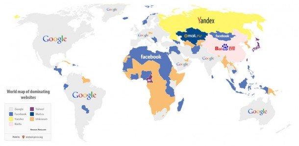 Websites map