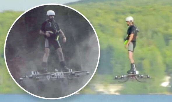 A Canadian Has Invented A Hoverboard That Can Actually Fly 16 Feet In The Air