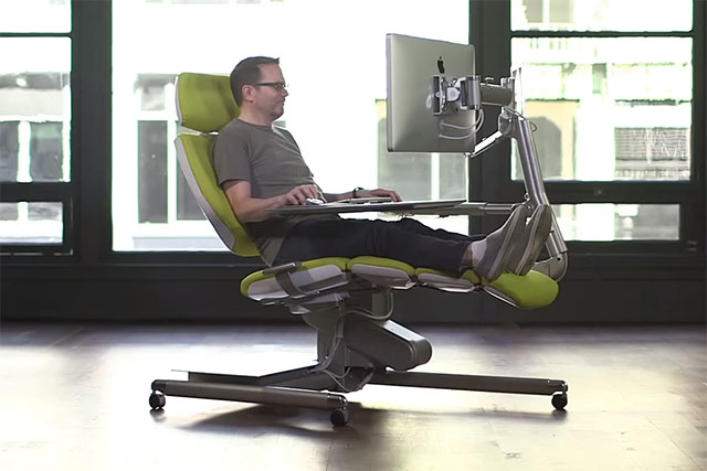 This $5,900 Workstation Lets You Work Lying Down 1