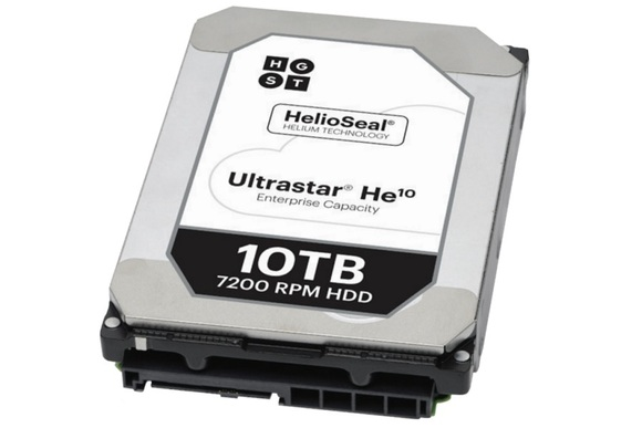 HGST Announces World's First Helium-Filled 10TB Hard Drive 3
