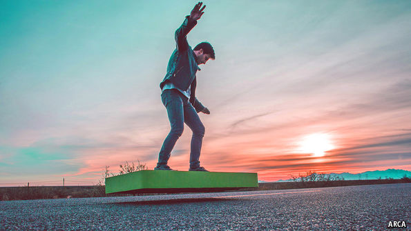A Hoverboard that Actually Hovers