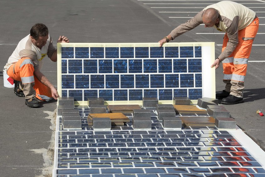 France Wants To Build More Than 600 Miles of Solar Roads