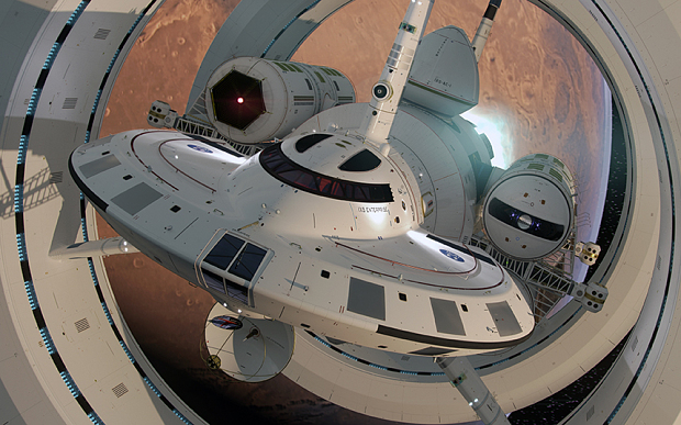 NASA's warp drive is straight out of science fiction, if it existed