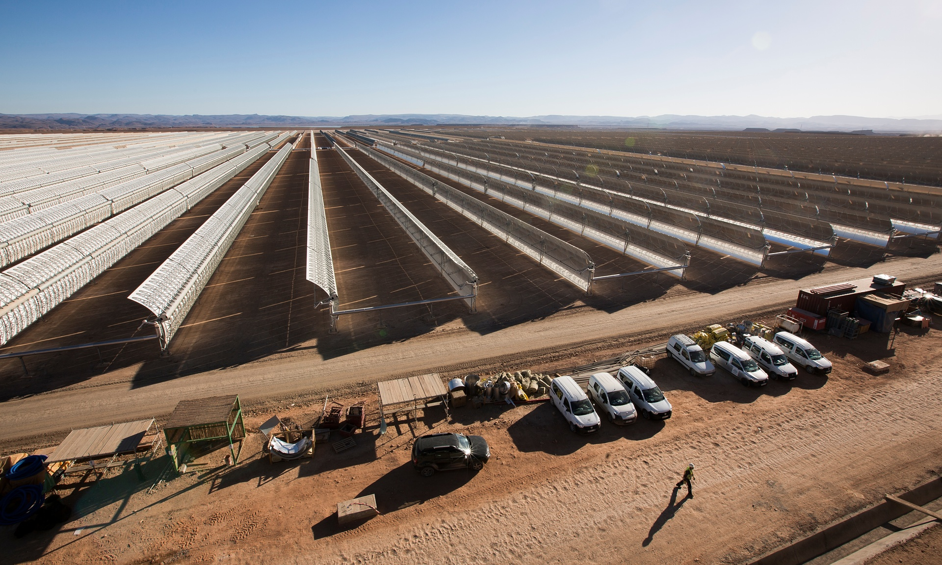 Morocco to switch on first phase of world's largest solar plant