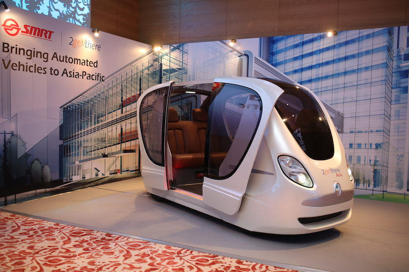 SMRT To Introduce 24-Seaters Driverless Cars In Singapore