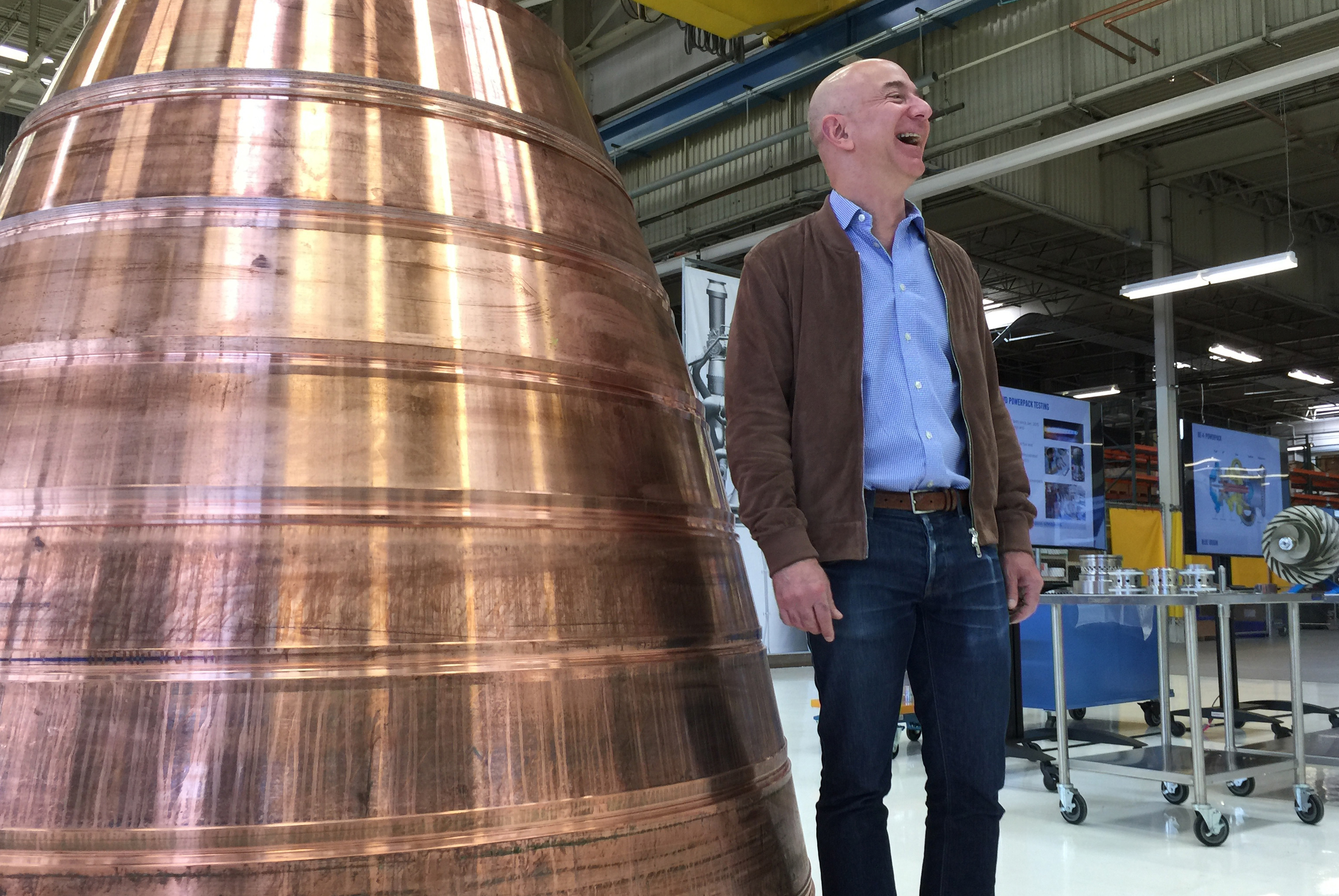 Jeff Bezos Pulls Back The Curtain On His Plans For Space
