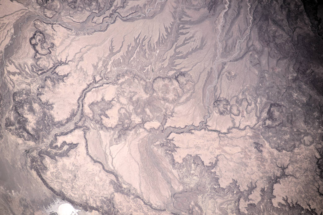 Water Etchings in Western Mexico Sands