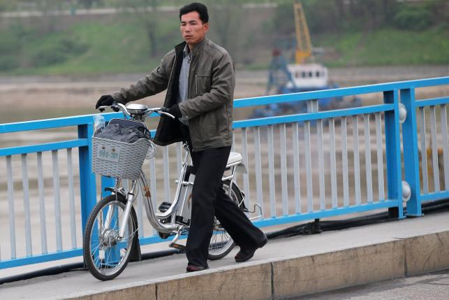 Electric bikes taking off in North Korea