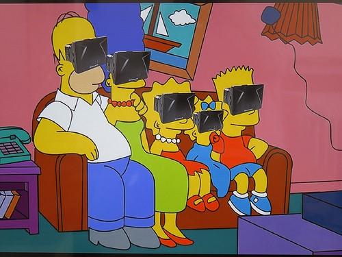 Simpsons VR