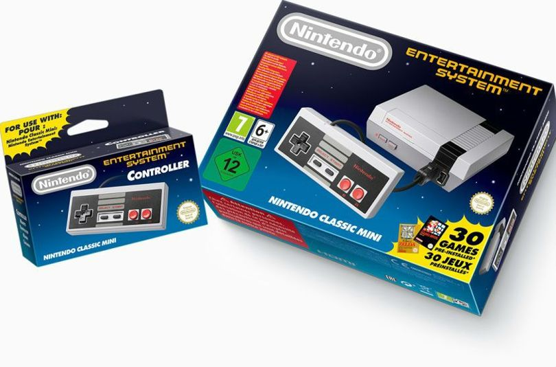 Nintendo NES making a comeback in Mini form 1
