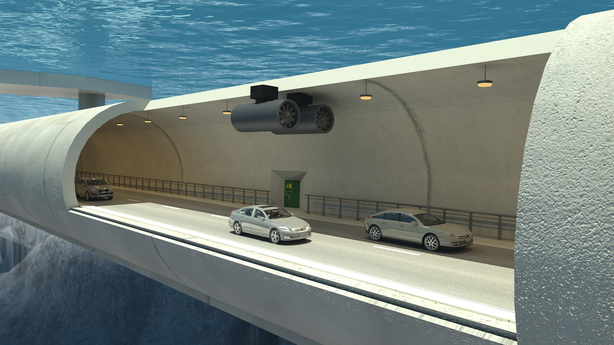 Underwater floating tunnel planned for Norway 1