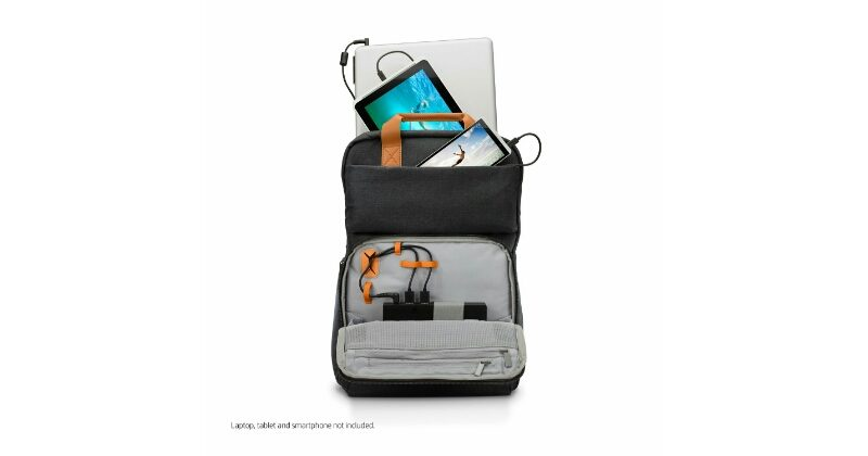HP Powerup Backpack lets you charge your devices on the go