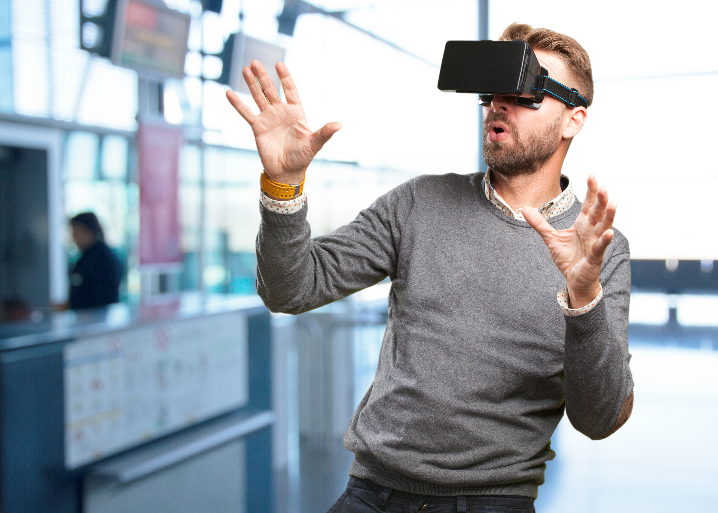 Now that it's becoming more mainstream how are businesses taking advantage of virtual reality?