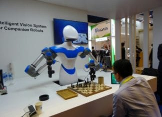 For Hire: Companion Robot - Pours Coffee & Enjoys Playing Chess