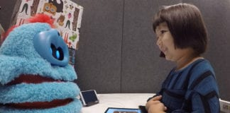 Tega the Companion Robot helps Children Develop Can-do Attitude