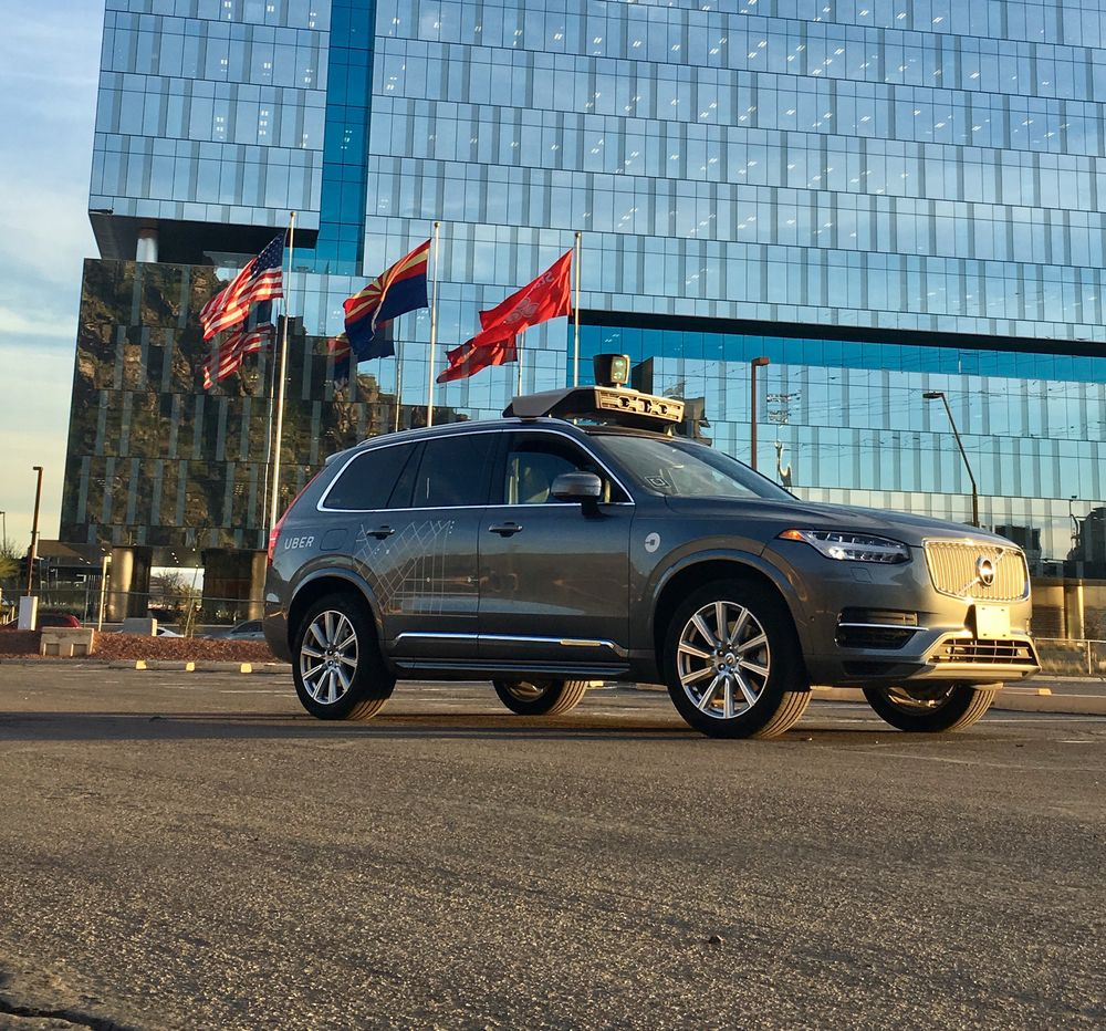 Uber's self-driving cars welcomed by Arizona Governor
