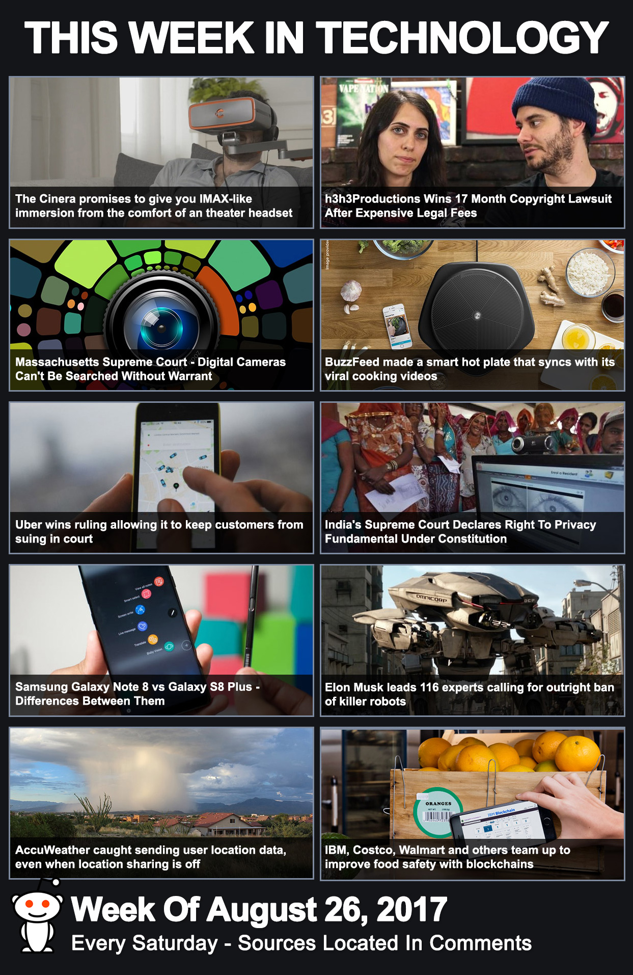 This Week In Technology - August 26, 2017