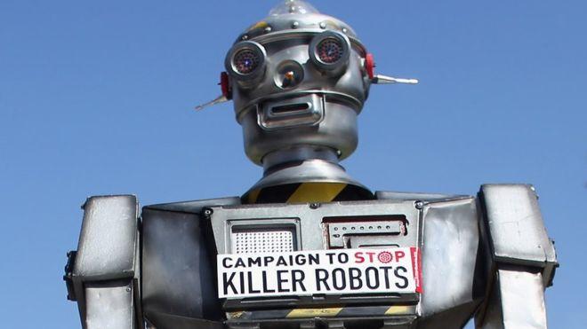 Killer robots: Experts warn of third revolution in warfare
