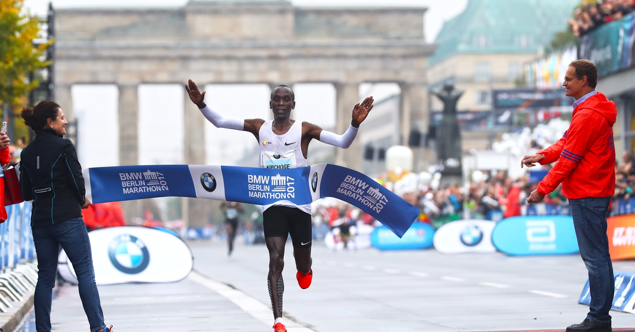 Live From The Berlin Marathon: You Can't Outrun Bad Weather