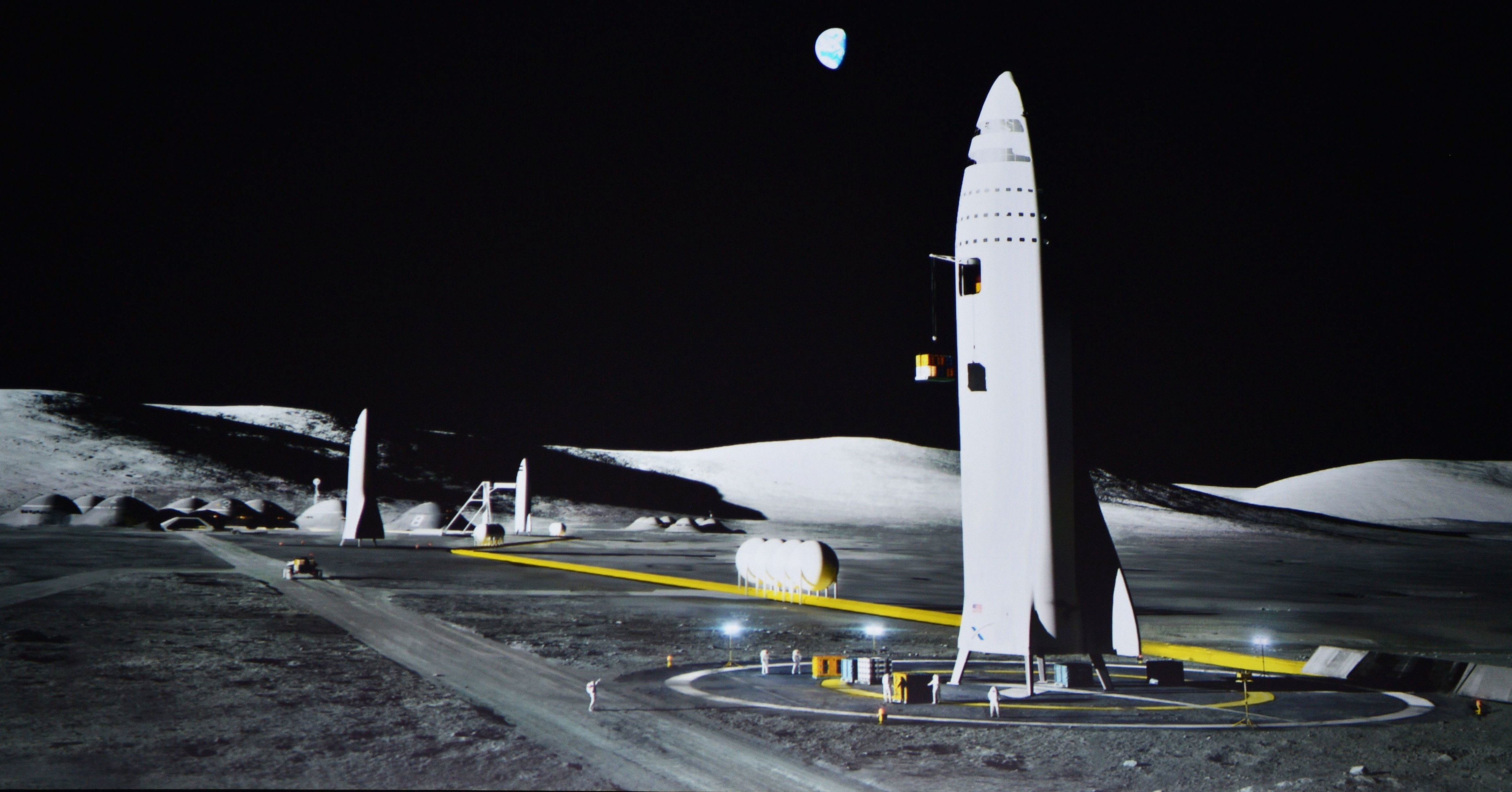 Elon Musk's Mars Colonization Plan Now Includes Intercity Rocket Travel