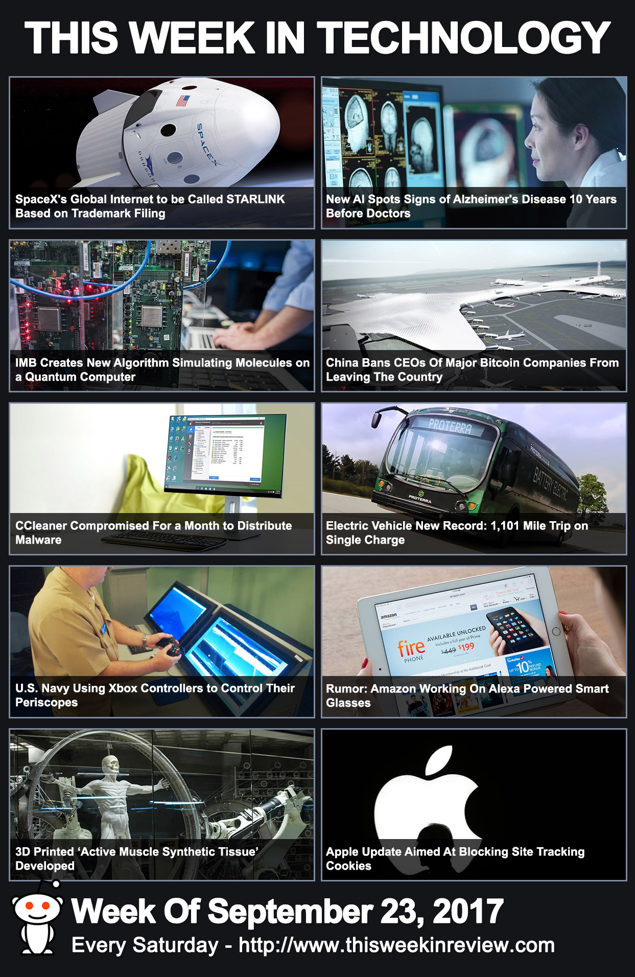 This Week In Technology - September 23, 2017