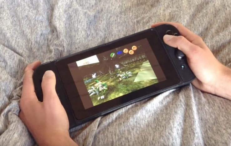 Nintimdo RP is a DIY Nintendo Switch clone that plays classic games