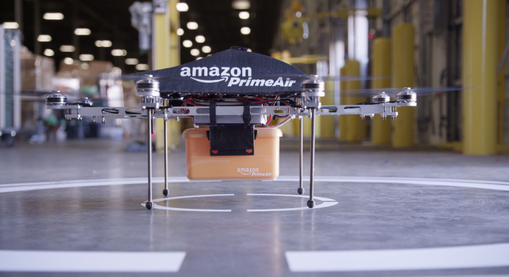 Amazon patents a drone that delivers a charge to power up EVs on the go