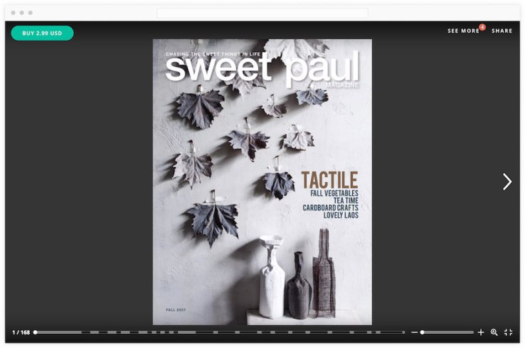 Digital magazine platform Issuu adds support for subscriptions and single-issue sales