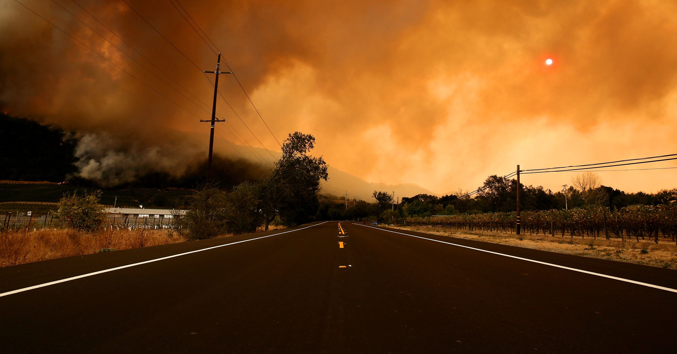 The Fires in Napa, Sonoma, and Santa Rosa Are a Perfectly Normal Apocalypse