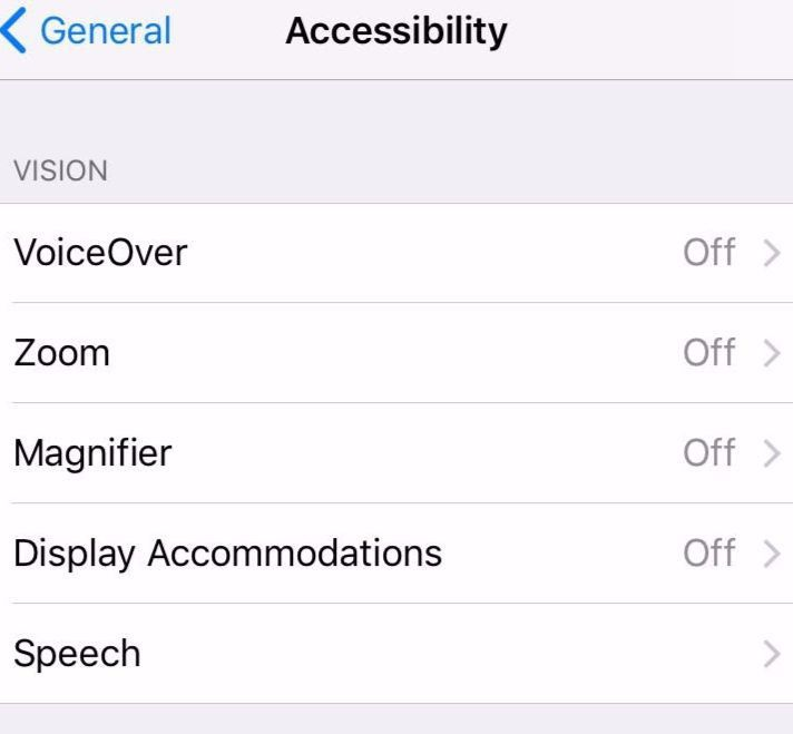 How to activate Smart Invert in iOS 11