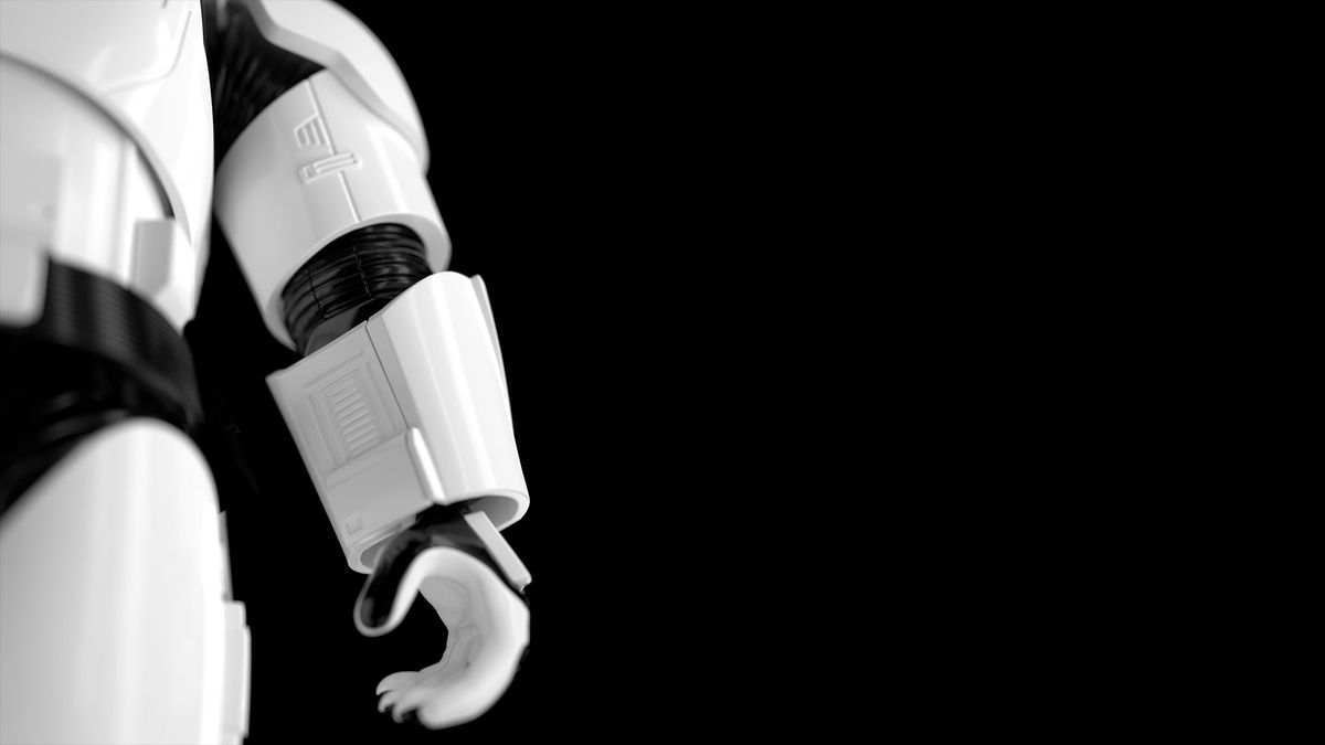 Adorable AR-activated 'Star Wars' Stormtrooper robot is the droid you're looking for