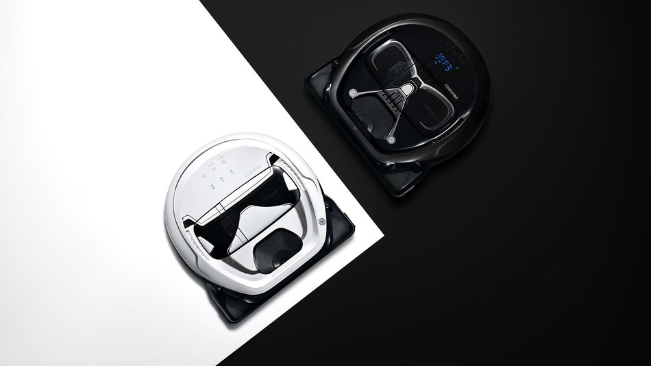 These Star Wars POWERbot vacuums by Samsung are available for pre-order starting Oct. 10.