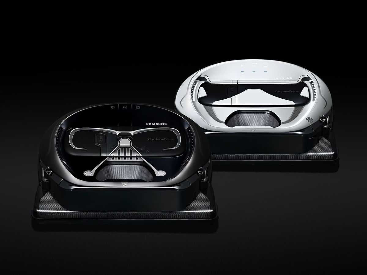 Leave cleaning to the Dark Side with the help of these Star Wars vacuums