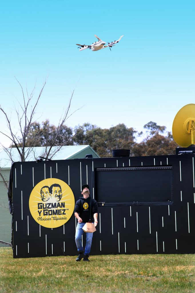 Project Wing drones are helping deliver Tex-Mex food from Guzman y Gomez in Australia