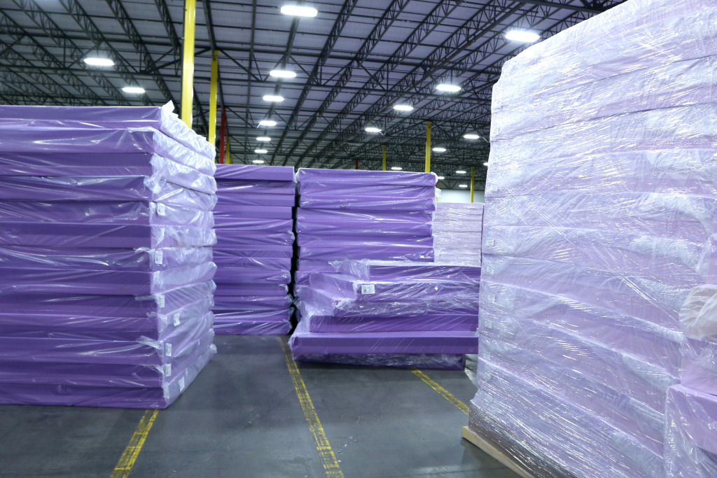 Mattress startup Purple launches in 13 Mattress Firm store locations