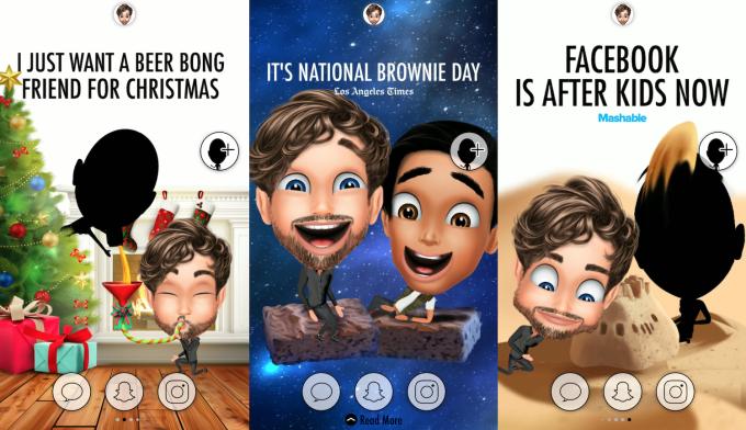 Meet 'Genies,' the lifelike personalized avatars that reenact news