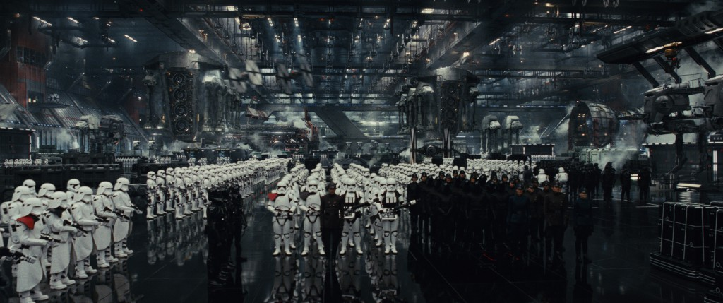 Stormtroopers and other human military personnel of the First Order. Credit: Lucasfilm | Disney